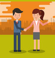 business people characters vector image vector image