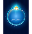 creative christmas design vector image vector image