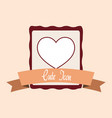 cute icon design vector image vector image