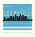 Los angeles graphic t-shirt design tee print