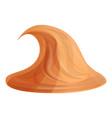 peanut butter cream icon cartoon style vector image vector image