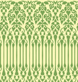seamless vine pattern vector image vector image