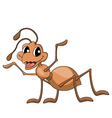 ant cartoon vector image vector image