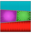 comic bright colorful concept vector image vector image