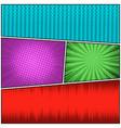 comic bright colorful concept vector image