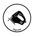 Icon of jigsaw icon vector image vector image