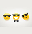 like a boss icon pack cute character vector image