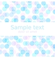 Pastel spring abstract background with copyspace vector image vector image