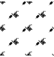 Tattoo machine icon black Single tattoo icon from vector image