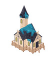 witch house icon vector image