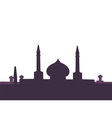 arabic architecture vector image