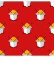 bright wok box chineese seamless pattern vector image