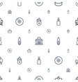burn icons pattern seamless white background vector image vector image