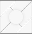 photo frame collage template vector image vector image
