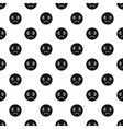 Sad face pattern simple style vector image vector image
