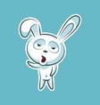 sticker emoji emoticon emotion yawn gape vector image vector image