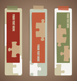 Vintage note papers ready for your message vector image vector image