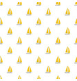 yacht travel pattern seamless vector image