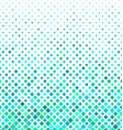 Cyan square pattern background design vector image vector image