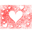 heart holiday background vector image vector image