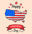 independence day colorful style card vector image vector image