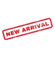 New Arrival Rubber Stamp vector image vector image