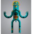 Pagan symbol spiritual cult theme Modernis vector image vector image