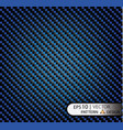 pattern seamless carbon fiber blue under vector image