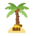 Treasure island vector image vector image