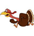 turkey cartoon vector image vector image
