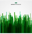 abstract image green straight lines of nature vector image