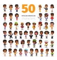 African American Characters vector image vector image