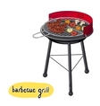 Barbecue Grill Concept vector image vector image