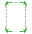 frame tree vector image vector image