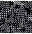 grid geometric ornament vector image vector image