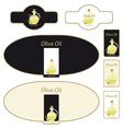 olive oil - label vector image vector image