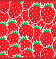 seamless background fruit theme 4 vector image