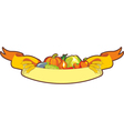 Harvest Ribbon vector image