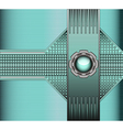 technical background with metallic vector image
