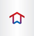 house home real estate icon vector image