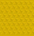3d geometric pattern with triangles editable vector image vector image