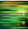abstract green blur background with retro radio vector image vector image
