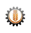 Agriculture and industry icon vector image vector image