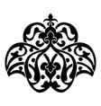 Antique ottoman turkish design vector image vector image