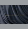 awarding nomination ceremony luxury black wavy vector image vector image