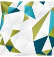 background with color triangles vector image vector image