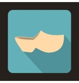 Clogs icon flat style vector image