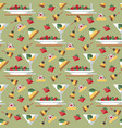 cocktail party aperitif seamless pattern vector image vector image