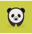 Cute Cartoon panda vector image vector image