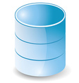Database icon vector image vector image